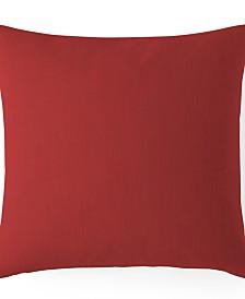"""Cambric Red Euro Sham Cushion 20""""x20"""""""