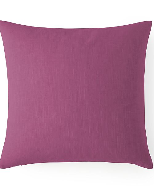 "Colcha Linens Cambric Berry Square Cushion 20""x20"""