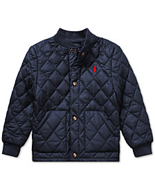 Polo Ralph Lauren Little Boys Quilted Baseball Jacket