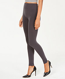 HUE® Brushed Fleece Lined Seamless Leggings