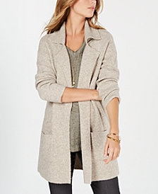 Style & Co Petite Long Sweater Blazer, Created for Macy's