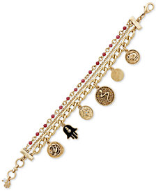 Lucky Brand Beaded Charm Bracelet, Created for Macy's