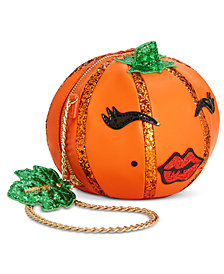 Betsey Johnson Oh My Gourd Pumpkin Crossbody