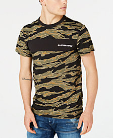 G-Star RAW Men's Tiger Camo T-Shirt,  Created for Macy's
