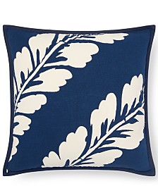 "Lauren Ralph Lauren Annalise Botanical 18"" Square Decorative Pillow"