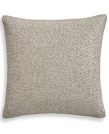 "Hotel Collection Birch 18"" Square Decorative Pillow, Created for Macy's"