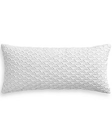 "Hotel Collection Seaglass Cotton Seafoam 12"" x 26"" Decorative Pillow, Created for Macy's"