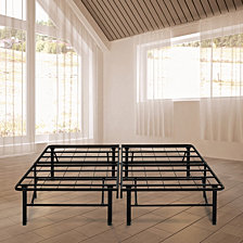 Ultima Black Platform Metal Bed Frame
