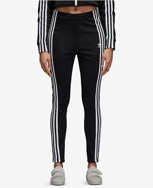32553f4d118 adidas High-Waist Track Pants & Reviews - Pants & Capris - Women ...