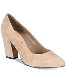 Bella Vita Gigi Block-Heel Pumps
