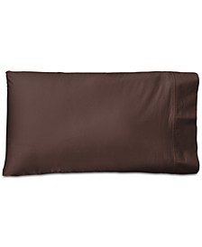 Spencer Cotton Sateen Count Solid Pair of Standard Pillowcases