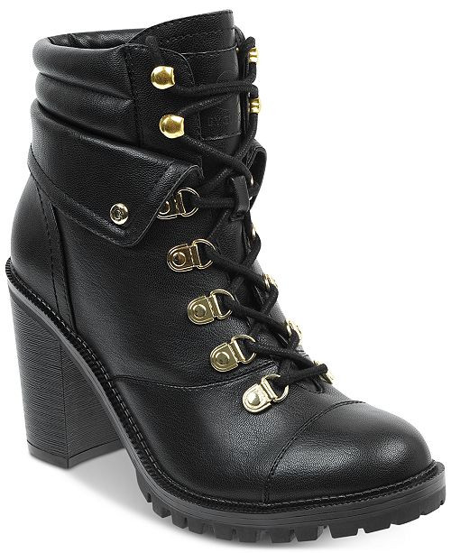 228b0f50c93 G by GUESS Jollyn Block Heel Booties   Reviews - Boots - Shoes ...