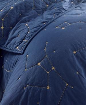 Whim By Martha Stewart Constellation King Quilt Set Created for Macys Bedding