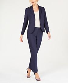 Anne Klein Pinstriped Pantsuit