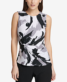 DKNY Side-Knot Shell