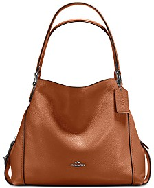 COACH Edie Shoulder Bag 31 in Polished Pebble Leather   Reviews ... 3faaf3b0d40e8