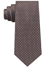 Michael Kors Men's Checkerboard Gingham Silk Tie