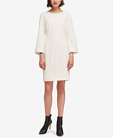DKNY Bell-Sleeve Shift Dress, Created for Macy's