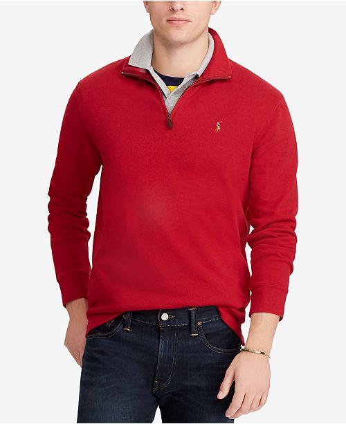 193de1a06c8b Polo Ralph Lauren Men s Big   Tall Half-Zip Pullover   Reviews ...