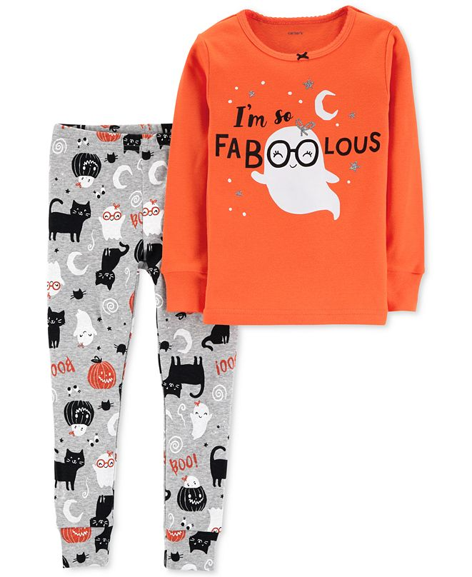 Carter's Toddler 2-Pc. Snug-Fit Cotton Faboolous Pajamas Set