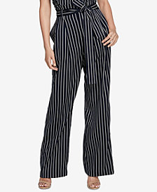 RACHEL Rachel Roy Piper Striped Pants, Created for Macy's
