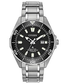 Citizen Eco-Drive Men's Promaster Diver Super Titanium Bracelet Watch 44mm