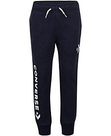 Converse Big Boys Star Chevron Logo Jogger Pants