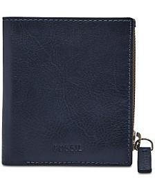 Fossil Men's Philip Leather Zip Wallet