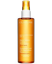Clarins Sunscreen Oil-Free Lotion Spray SPF 15, 5.1 fl. oz.