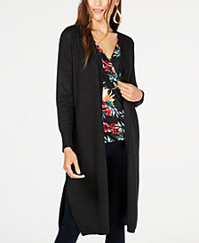 Thalia Sodi Lurex® Duster Cardigan, Created for Macy's