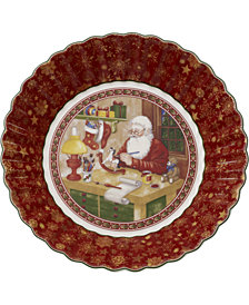Villeroy & Boch Toy's Fantasy Santa's Workshop Porcelain Large Bowl