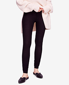 Free People Lou Lou Ruched Thermal Leggings