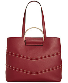 I.N.C. Krissty Top-Handle Tote, Created for Macy's