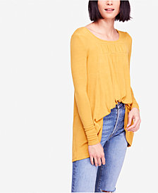 Free People Love Valley Gathered High-Low Top