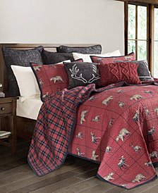 Woodland Plaid 3 Pc King Quilt Set
