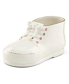 Lenox Baby Pink Baby Shoe Figurine