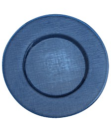 Serveware, Verona Deep Blue Glass Charger