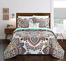 Chagit 4 Piece King Quilt Set