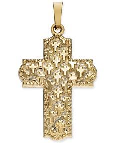 944ac1561744c Gold Cross Necklace: Shop Gold Cross Necklace - Macy's