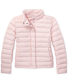 Polo Ralph Lauren Big Girls Lightweight Down Jacket