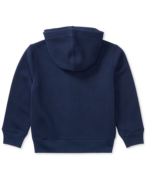 914f74ca8af5 Polo Ralph Lauren Little Boys Full Zip Hoodie - Sweaters - Kids - Macy s