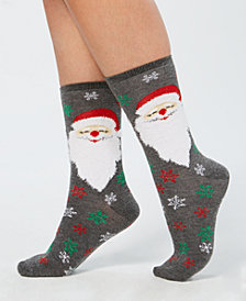 Charter Club Bearded Santa Socks, Created for Macy's