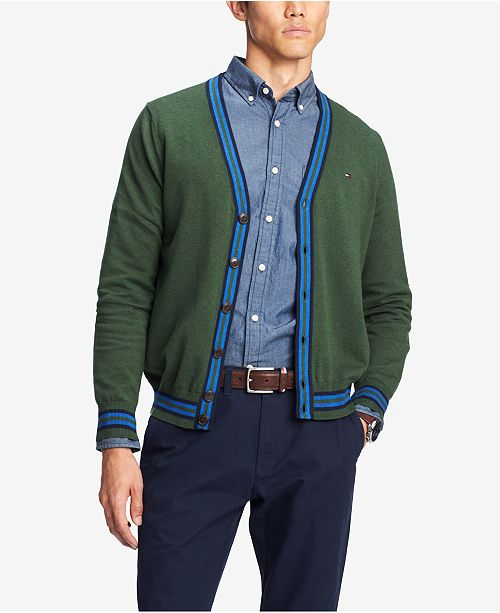 Tommy Hilfiger Mens Signature Tremont Cardigan Created For Macys
