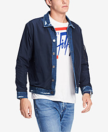 Tommy Hilfiger Men's Lightweight Denim Jacket, Created for Macy's