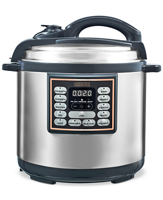 Crux 8 Qt 10 In 1 Programmable Multi Cooker Amp Reviews