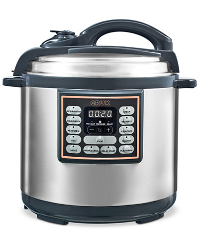 Crux 8-Qt. 10-In-1 Programmable Multi-Cooker