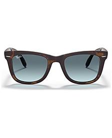Sunglasses, RB4105 FOLDING WAYFARER GRADIENT