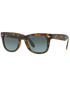 Ray-Ban Sunglasses, RB4105 FOLDING WAYFARER GRADIENT
