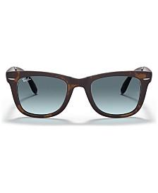 Ray-Ban Sunglasses, RB4105 FOLDING WAYFARER GRADIENT