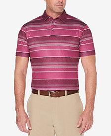 PGA TOUR Men's Gradient Stripe Performance Polo